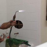 soldering shower valve 019